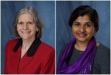 photo of Carolyn Hanson and Prerna Poojary-Mazzotta