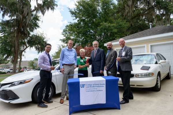 The University of Florida Occupational Therapy department launched a new driving evaluation and rehabilitation service, SmartDrive.