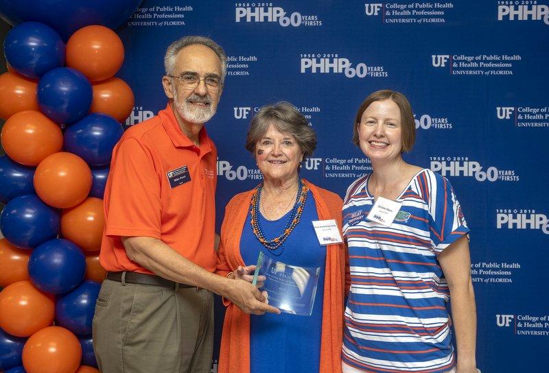 Sharon Brandenburger-Shasby honored as PHHP Outstanding Alumni for 2018