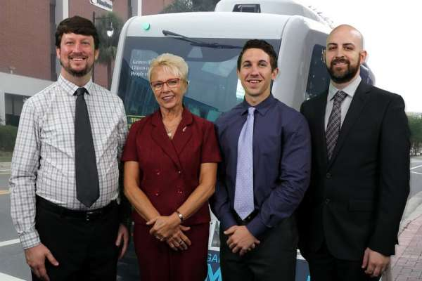 UF team members for autonomous vehicle project