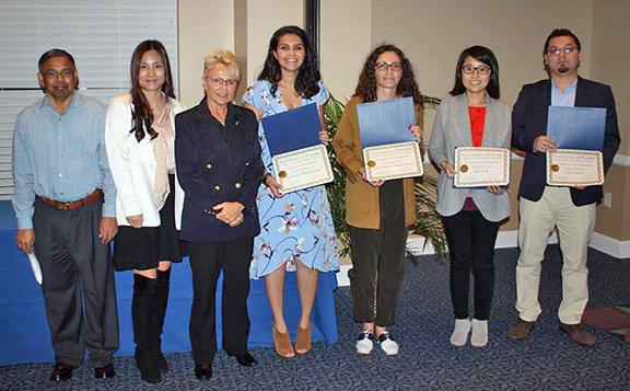 photo of International Student Awardees in PHHP for 2018