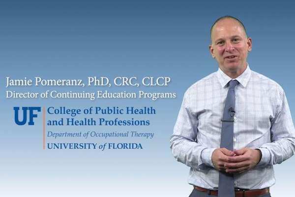 Dr. Jamie Pomeranz overview of the UF CEU program video