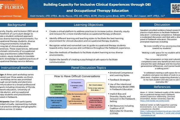 Building Capacity for Inclusive Clinical Experiences
