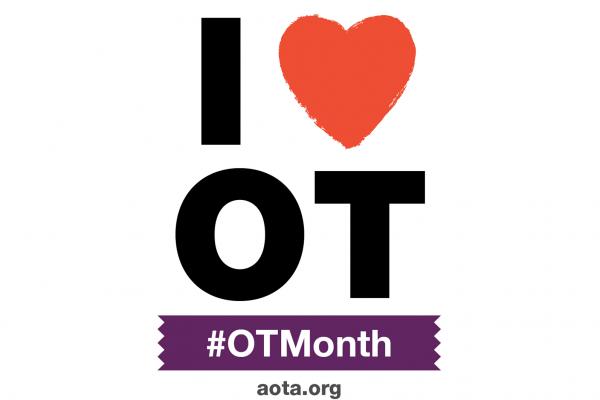I heart OT, April is OT month