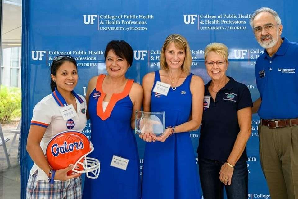 Celebrating distinguished and visiting alumni during UF Homecoming 2019.