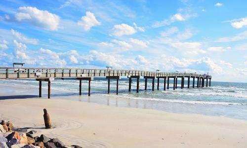 pier at St. Augustine Beach