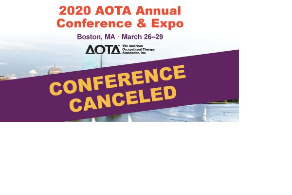 2020 AOTA Annual Conference & Expo canceled