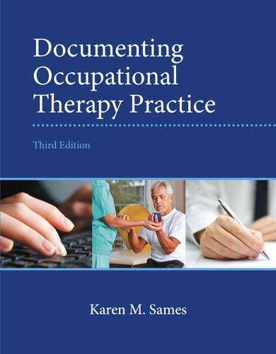 Documenting Occupational Therapy Practice, 3rd edition textbook cover