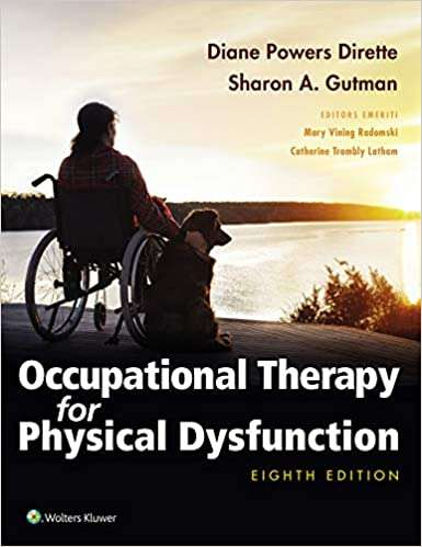 Occupational Therapy For Physical Dysfunction, 8th edition textbook cover