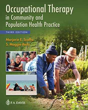Occupational Therapy In Community And Population Health Practice, 3rd edition textbook cover