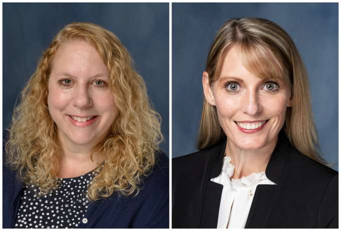 Drs. Heidi Horwitz and Becky Piazza photo