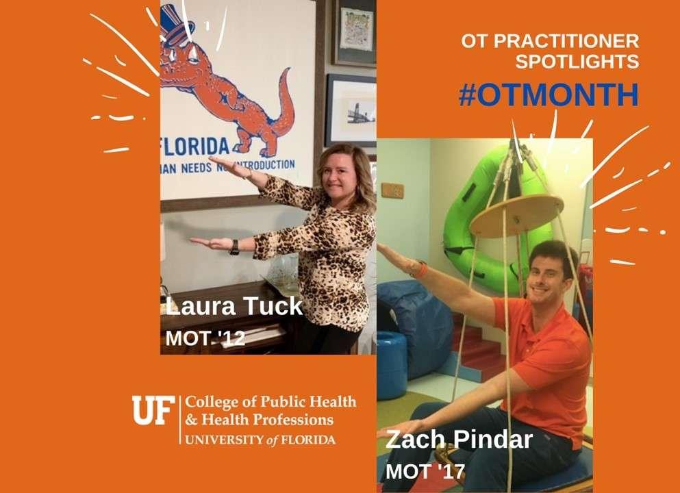 Laura Tuck, MOT 2012 and Zach Pindar, MOT 2017
