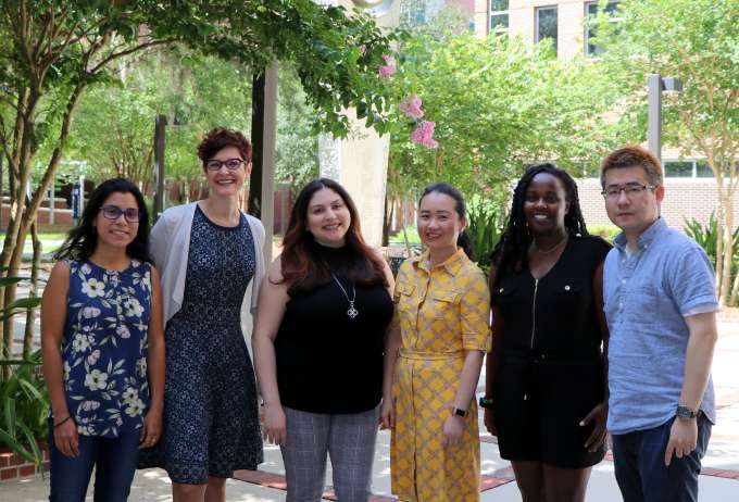 OT Summit of Scholars 2021 - UF OT attendees group photo